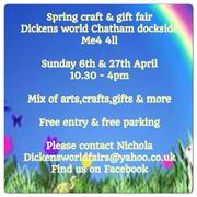 dickens world spring fair